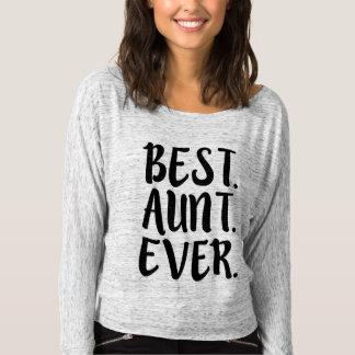 El mejor decir divertido de la tía de tía Ever Playera