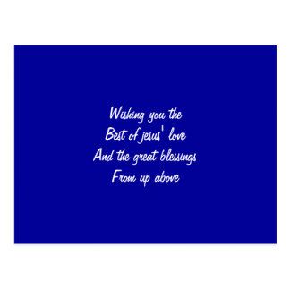 El mejor del amor de Jesús Tarjetas Postales