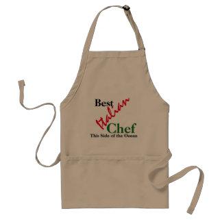 El mejor delantal italiano del cocinero