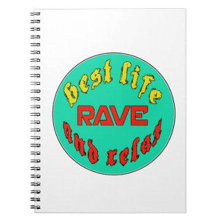 El mejor delirio de la vida cuadernos