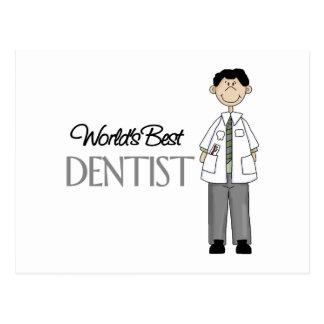 El mejor dentista de los mundos postal
