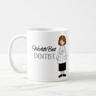 El mejor dentista del mundo, mujer taza clásica
