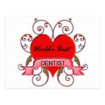 El mejor dentista del mundo postal
