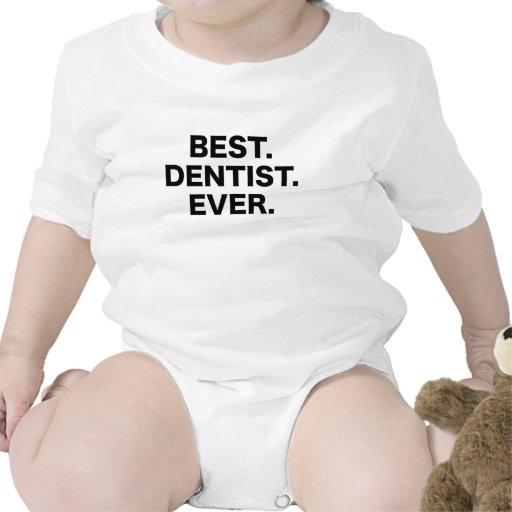 El mejor dentista nunca camisetas