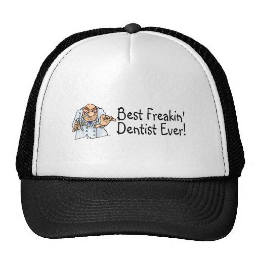 El mejor dentista siempre 2 de Freakin Gorros Bordados