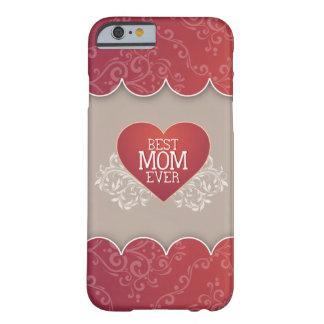 El mejor día de madre de la mamá nunca funda de iPhone 6 barely there