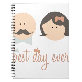 El mejor día nunca cuaderno