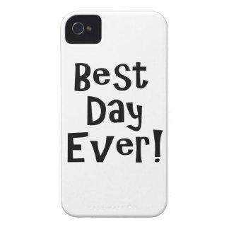 ¡El mejor día nunca! Funda Para iPhone 4 De Case-Mate
