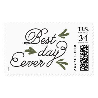 El mejor día que casa nunca el sello