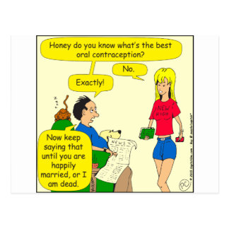 el mejor dibujo animado oral de la contracepción postal