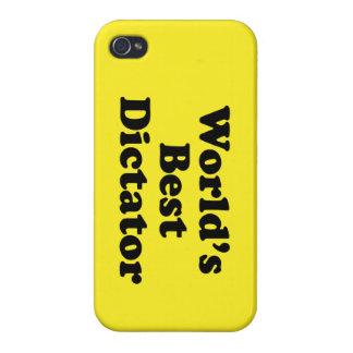El mejor dictador del mundo iPhone 4/4S fundas