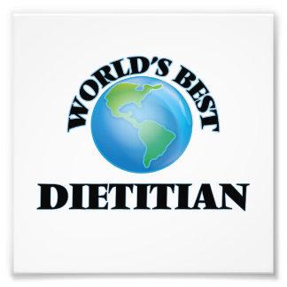 El mejor dietético del mundo impresion fotografica