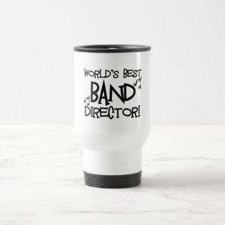 El mejor director de la banda del mundo taza de viaje