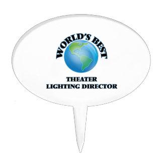 El mejor director de la iluminación del teatro del decoraciones para tartas