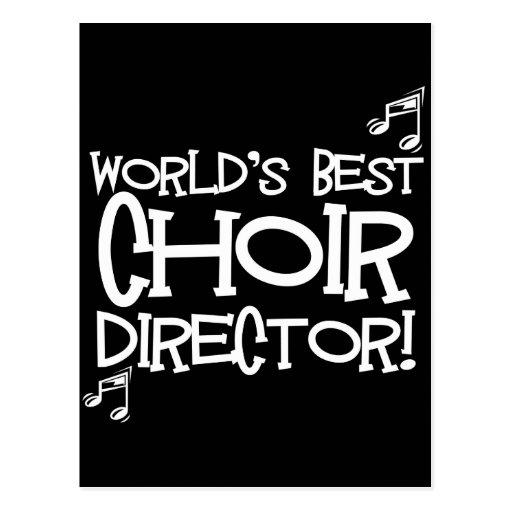 El mejor director del coro del mundo tarjetas postales