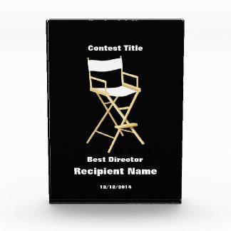 El mejor director director Chair Contest Award