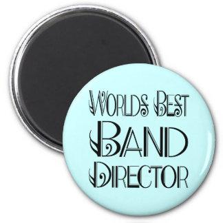 El mejor director Magnet de la banda del mundo Imán Redondo 5 Cm