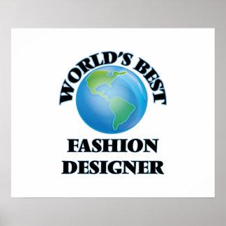 El mejor diseñador de moda del mundo posters