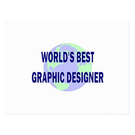 El mejor diseñador gráfico del mundo postales