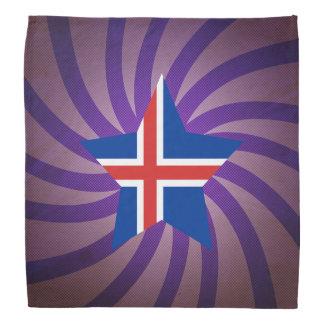 El mejor diseño de la bandera de Islandia Bandana
