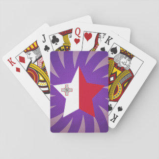 El mejor diseño de la bandera de Malta Naipes