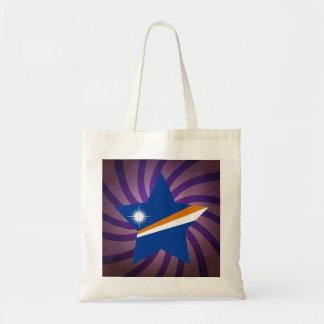 El mejor diseño de la bandera de Marshall Islands Bolsa Tela Barata