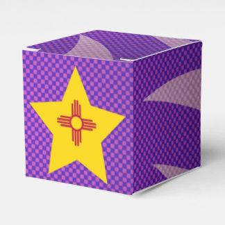 El mejor diseño de la bandera de New México Caja Para Regalos De Fiestas