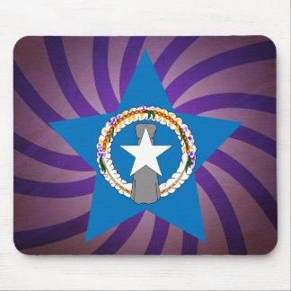 El mejor diseño de la bandera de Northern Mariana Alfombrilla De Ratones