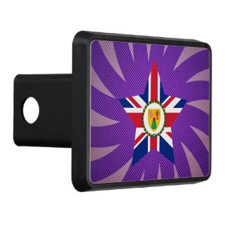 El mejor diseño de la bandera de Turks and Caicos Tapas De Remolque