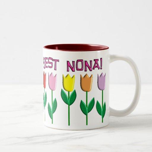 El mejor diseño de los tulipanes de los Nona Taza De Café