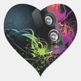 ¡El mejor diseño! Pegatina Corazón