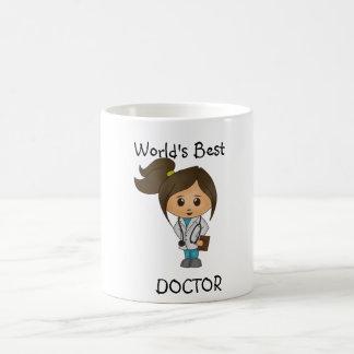 El mejor doctor del mundo - imagen triguena taza