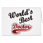 El mejor doctor del mundo tarjeta