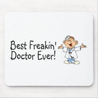 El mejor doctor Ever de Feakin Tapetes De Ratones