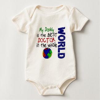 El mejor doctor In World 2 (papá) Mamelucos De Bebé