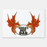 El mejor dragón del papá de los mundos en accesori