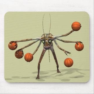 El mejor Dribbler del baloncesto Alfombrillas De Ratón