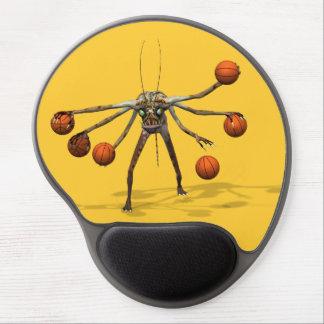 El mejor Dribbler del baloncesto Alfombrillas De Ratón Con Gel