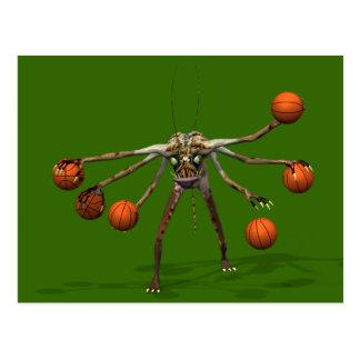 El mejor Dribbler del baloncesto Tarjetas Postales