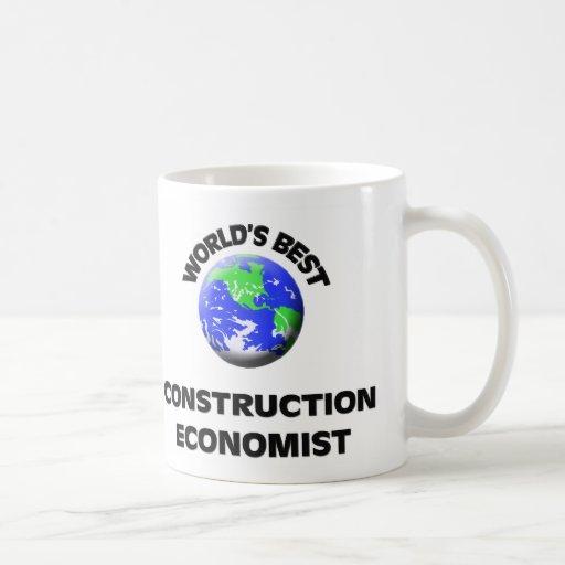 El mejor economista de la construcción del mundo taza de café