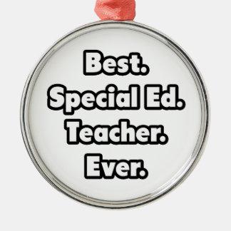 El mejor. Ed especial. Profesor. Nunca Adorno Redondo Plateado
