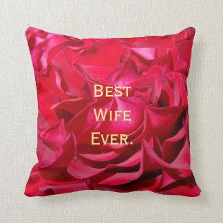 El mejor el día de San Valentín de la almohada de