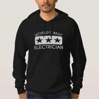 El mejor electricista del mundo sudadera