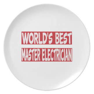 El mejor electricista principal del mundo platos de comidas