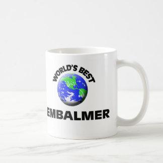 El mejor Embalmer del mundo Tazas De Café