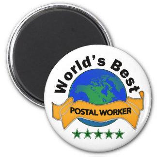 El mejor empleado de correos del mundo iman de nevera