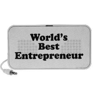 El mejor empresario del mundo iPhone altavoces
