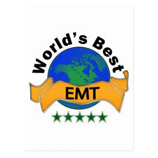 El mejor EMT del mundo Tarjeta Postal