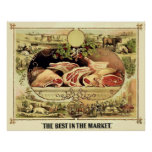 El mejor en el ~ 1872. del mercado posters