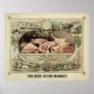 El mejor en el mercado [1872] posters